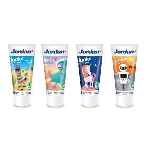 Jordan Junior Паста за зъби за деца от 6 до 12 години x50 мл