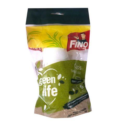 Fino Green Life Биоразградими чаши за еднократна употреба x6 броя