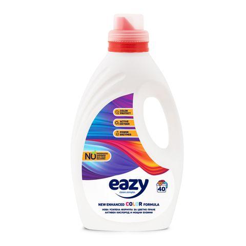 Eazy Color Течен перилен препарат за цветно пране x2.2 л