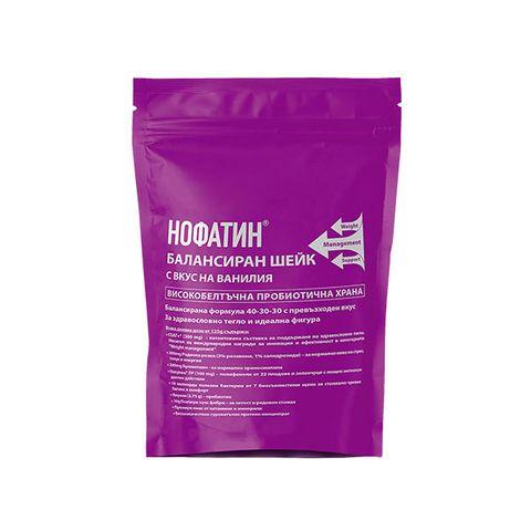 Vitagold Нофатин Балансиран шейк с вкус на ванилия х1000 г