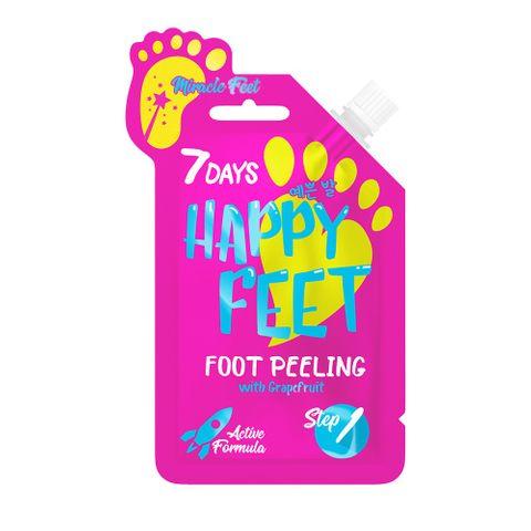 7 Days Happy Feet Пилинг за пети с грейпфрут x25 грама