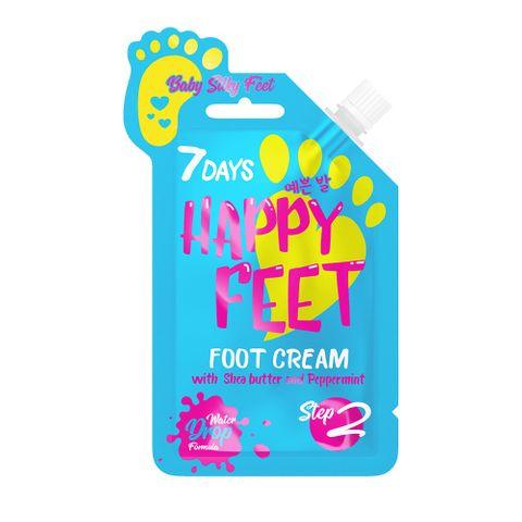 7 Days Happy Feet Крем за крака с масло от ший и мента x25 грама