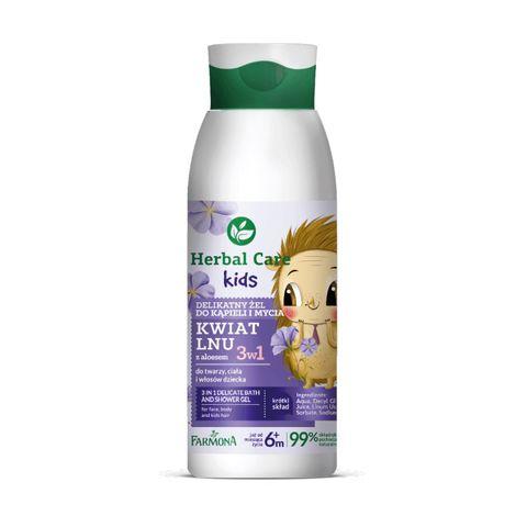 Farmona Herbal Care Kids Деликатен измивен гел 3 в 1 за деца над 6 месеца x400 мл