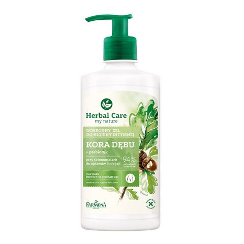Farmona Herbal Care Гел за интимна хигиена с пребиотик и екстракт от дъбова кора x330 мл