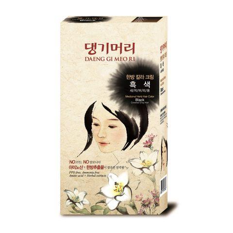 Doori Herb Care Color Безамонячна фито боя за коса x120 грама, Black