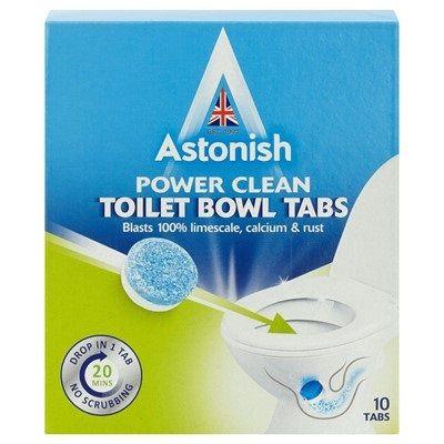 Astonish Таблетки за почистване на тоалетна чиния x10 броя