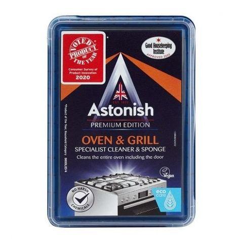 Astonish Паста за почистване на фурни и грил x250 грама + гъба