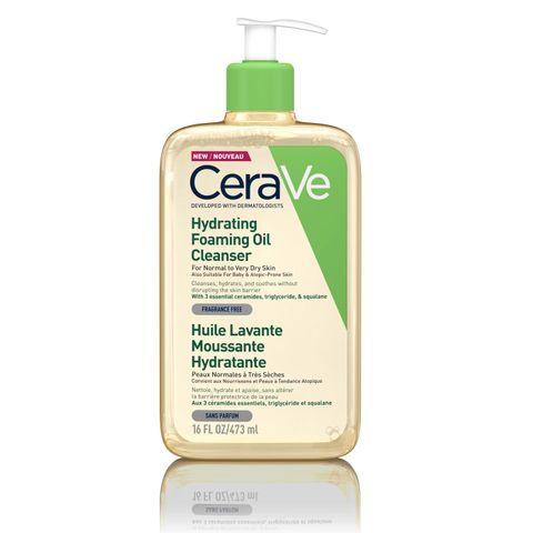 Cerave Хидратиращо измиващо олио за нормална към много суха кожа, склонна към атопия x473 мл