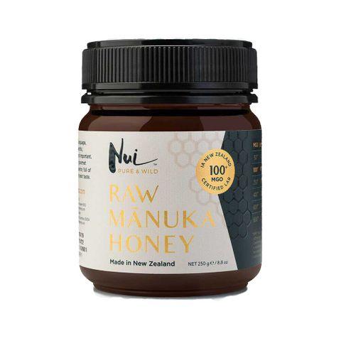Nui Pure & Wild Мед от манука МGO100+ х250 грама