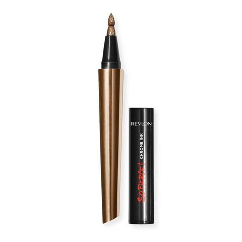 Revlon So Fierce Chrome Ink Очна линия с металически цвят, 902 Bronzage