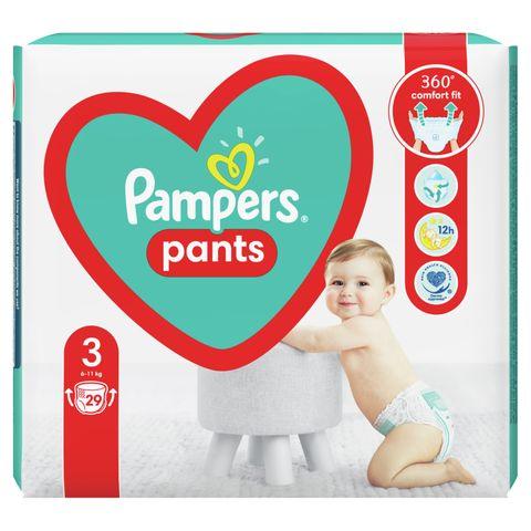 Pampers Pants 3 Midi Пелени-гащи за бебета и деца от 6 до 11 килограма х29 броя