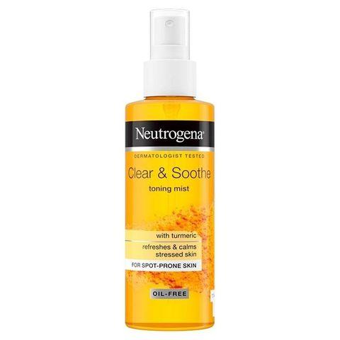 Neutrogena Clear & Soothe Тонизиращ и успокояващ спрей x125 мл
