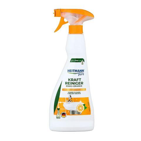 Heitmann Pure Препарат с оцет и портокал за почистване на баня и кухня x500 мл
